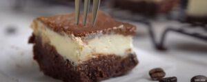 มอคค่าชีสเค้กบาร์คีโต Mocha Cheesecake Bars
