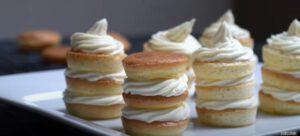 มินิวานิลลาคลาวเค้กคีโต Keto Mini Vanilla Cloud Cake
